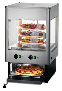 Lincat UMO50 Seal Upright Heated Food Merchandiser with Built in Oven-0