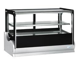 Interlevin A540V Flat Glass Counter Top Display