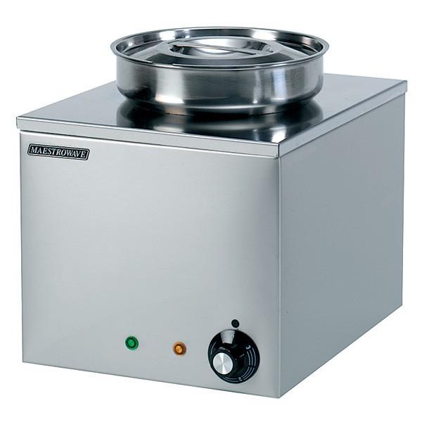 Maestrowave MBM1R Round Pot Bain Marie (Dry Heat)