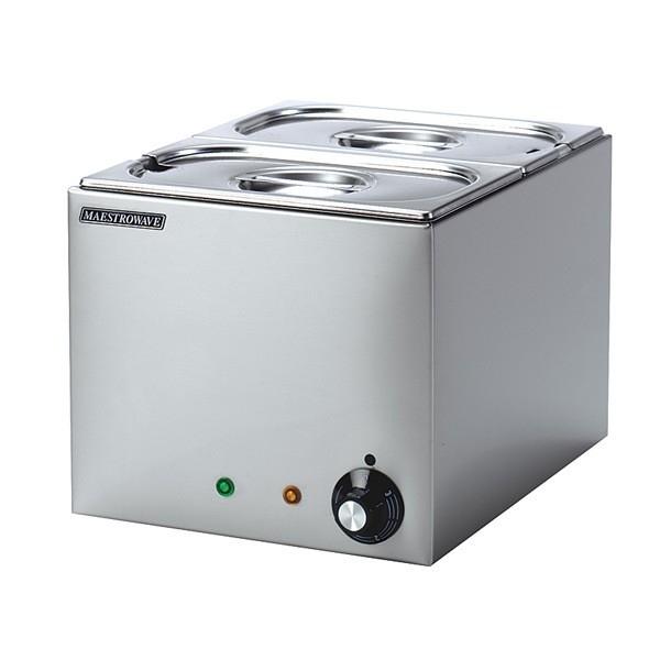 Maestrowave MBM2 2 Pot Bain Marie (Dry Heat)