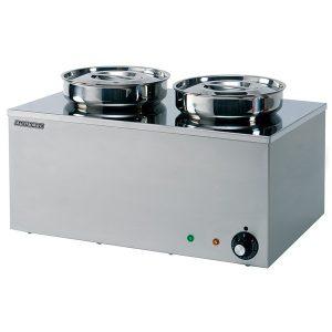 Maestrowave MBM2R 2 Pot Bain Marie (Dry Heat)