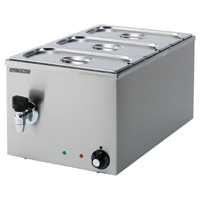 Maestrowave MBM3WT 3 Pot Bain Marie (Wet Heat)-0