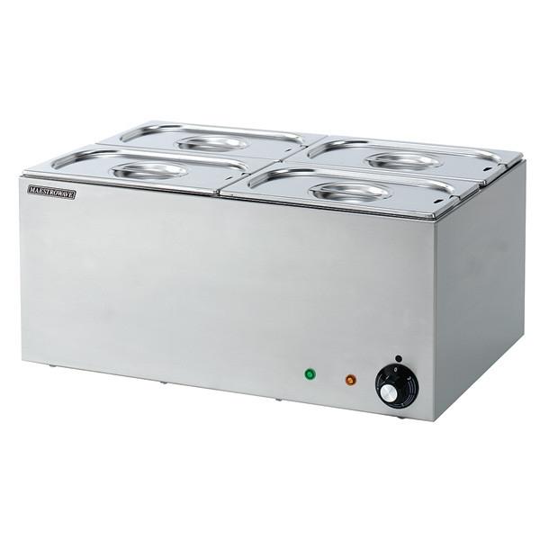 Maestrowave MBM4 4 Pot Bain Marie (Dry Heat)