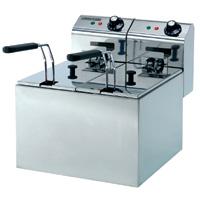 Maestrowave MDF55 Double Fryer -0