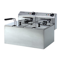 Maestrowave MDF88 Double Fryer-0