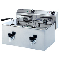 Maestrowave MDF88T Double Fryer-0