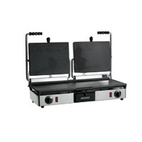 Maestrowave MEMT16053XNS Double Flat Panini/Contact Grill-0