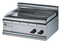 Lincat Silverlink 600 GS7/R Half Ribbed Griddle-LPG Gas-0