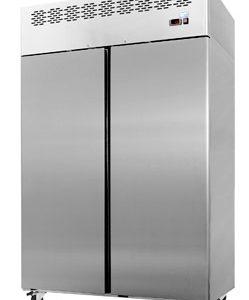 Interlevin CAR1250 Gastronorm Solid Double Door Refrigerator