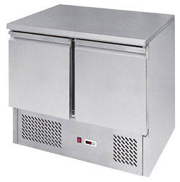 Interlevin ESL900 2 Door Gastronorm Counter Fridge