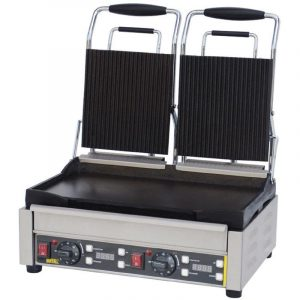 Buffalo L554 Double Contact Grill (Ribbed/Flat)