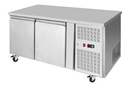 Interlevin PH20 2 Door Gastronorm Counter Fridge