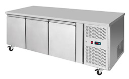 Interlevin PH30 3 Door Gastronorm Counter Fridge