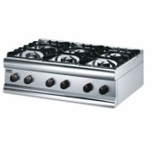 Lincat Silverlink 600 HT9 6 Burner Boiling Top-LPG Gas-0