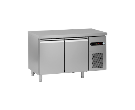 Gram Snowflake SCR-130CH 2 Door Counter Fridge