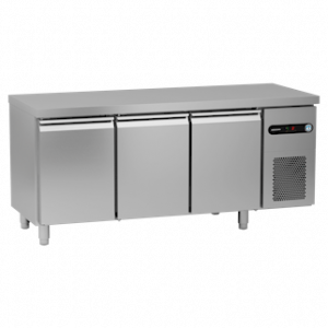 Gram Snowflake SCR-180CH 3 Door Counter Fridge