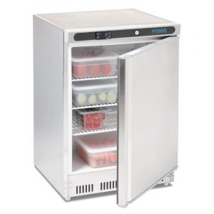 Polar CD080 Stainless Steel Undercounter Fridge