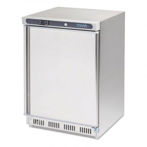 Polar CD081 Stainless Steel Undercounter Freezer-0