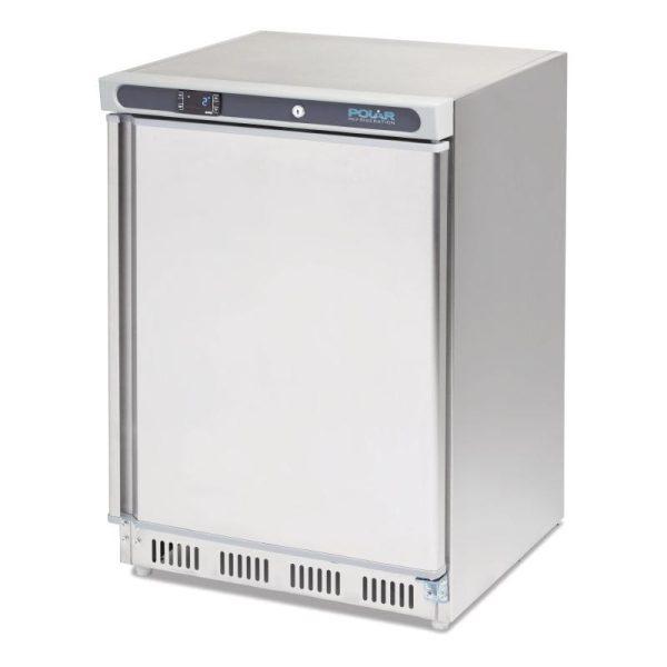 Polar CD081 Stainless Steel Undercounter Freezer-0