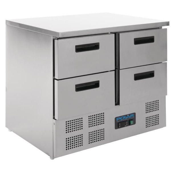 Polar U638 4 Drawer Counter Fridge