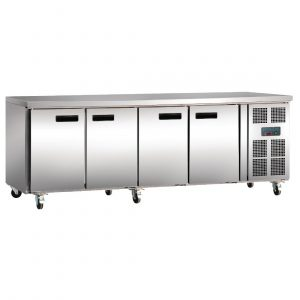 Polar G379 4 Door Counter Fridge MPN G379