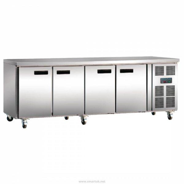 Polar G598 4 Door Gastronorm Counter Fridge
