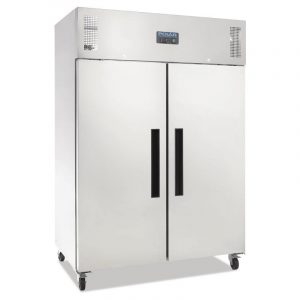 Polar G594 Stainless Steel Double Door Gastronorm Fridge