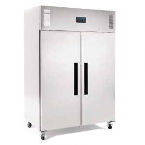 Polar G595 Double Door Stainless Steel Freezer
