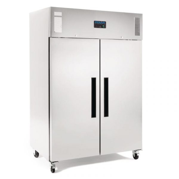 Polar G595 Double Door Stainless Steel Freezer