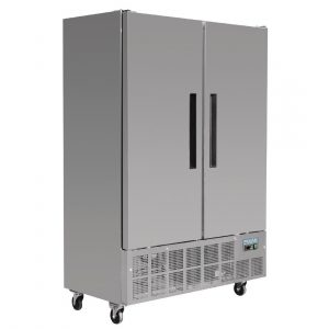 Polar GD880 Slimline Double Door Freezer