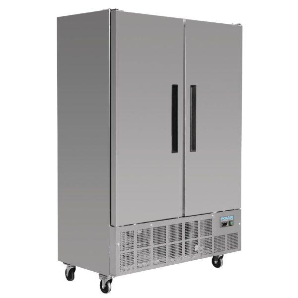 Polar GD880 Slimline Double Door Freezer