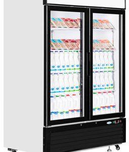 Interlevin LGC5000 Glass Double Door Display Chiller