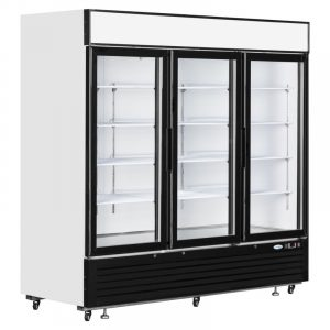 Interlevin LGC7500 Glass Triple Door Display Chiller