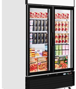 Interlevin LGF5000 Glass Double Door Display Freezer