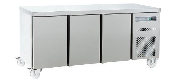 Sterling Pro SPN-7-180-30-SPCIR 3 Door Counter Freezer