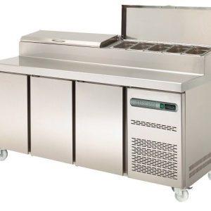 Sterling Pro SPPZ-180 3 Door Pizza Prep Counter