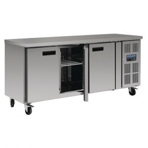 Polar G378 Triple Door Counter Fridge