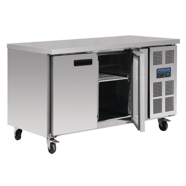 Polar G599 Double Door Counter Freezer