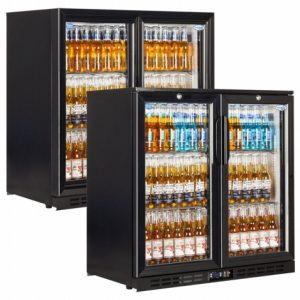 Interlevin EC20H Double Door Bottle Cooler