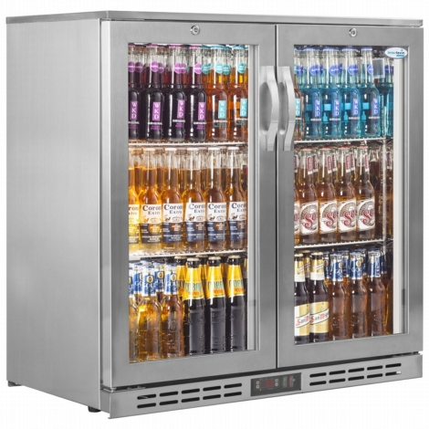 Interlevin PD20HSS Double Door Bottle Cooler