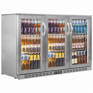Interlevin PD30HSS Triple Door Bottle Cooler