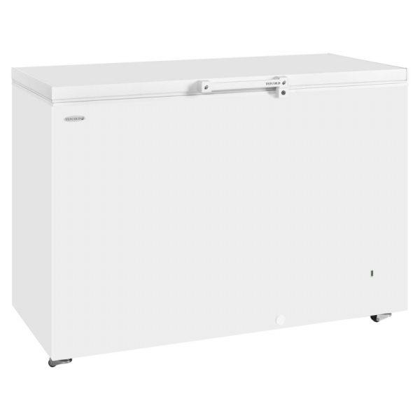 Tefcold GM400 Chest Freezer-White