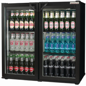 Autonumis Popular Double Door Bottle Cooler (Hinged Doors)-0