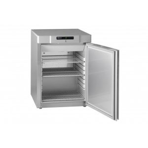 Gram Compact F210 Undercounter Freezer-Stainless Steel