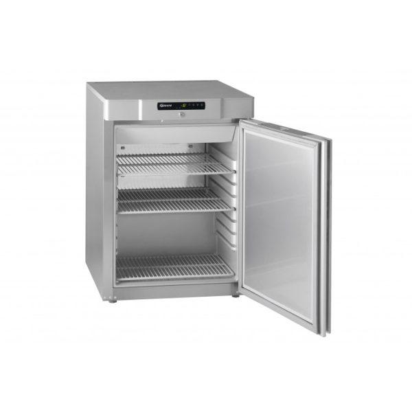 Gram Compact F210 Undercounter Freezer-Stainless Steel