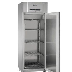 Gram Compact F610 Single Door Freezer (513ltr)-Stainless Steel