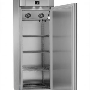 Gram Eco Plus F70 Single Door Freezer - Stainless Steel