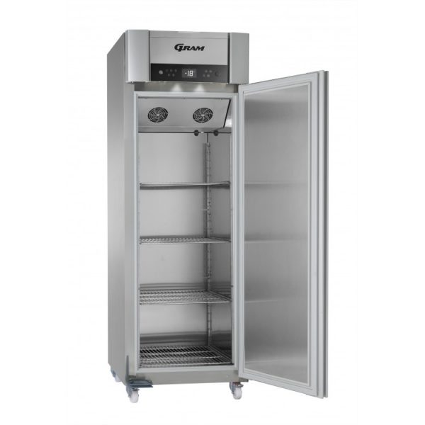 Gram Superior Plus F72 Single Door Freezer-Stainless Steel