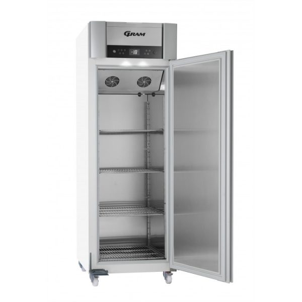 Gram Superior Plus F72 Single Door Freezer-White