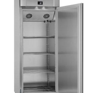 Gram Eco Twin F82 Single Door Freezer-Vario Silver